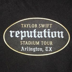 Rare Last One Patch Taylor Swift Reputation Tx